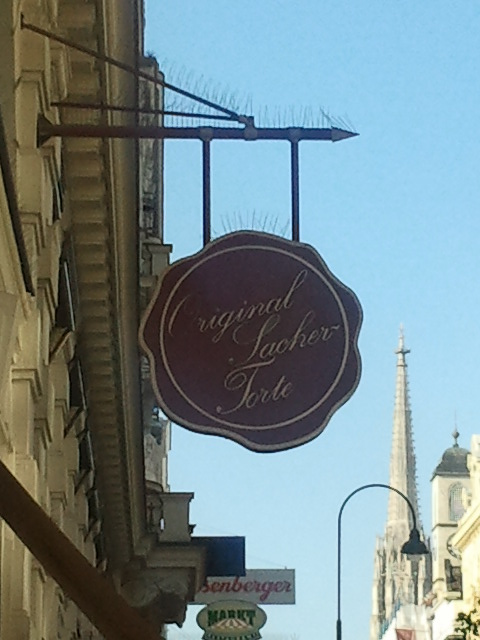 Sacher signage