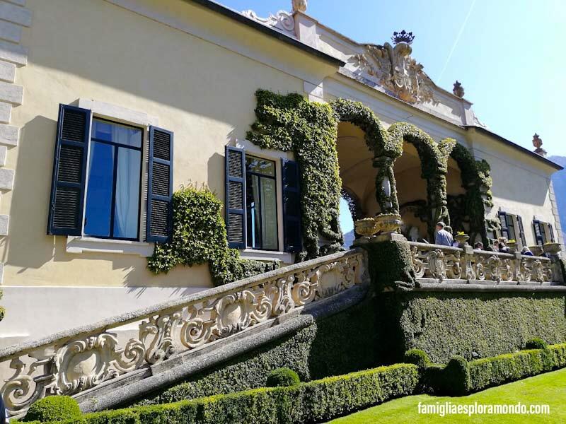 Loggia Durini Villa Del Balbianello