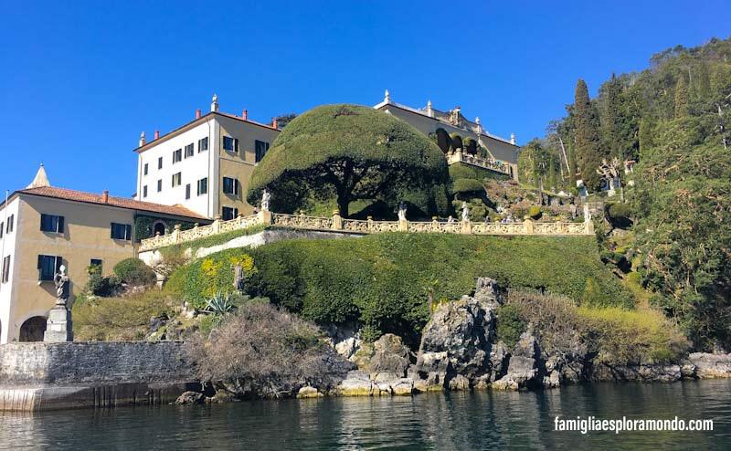 Villa Del Balbianello dal Lago