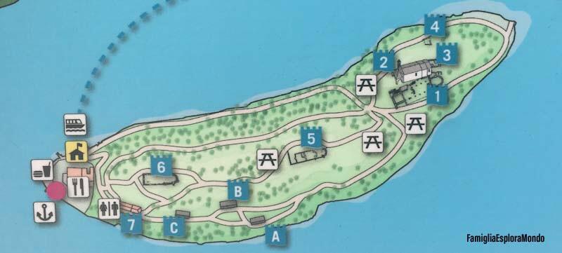 Mappa Isola Comacina