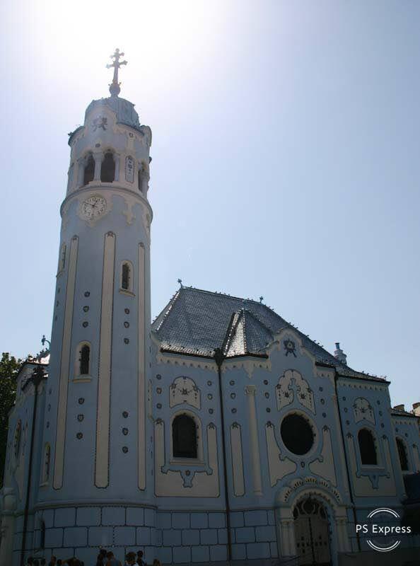 Chiesa di Santa Elisabetta, meglio nota come Chiesa Blu