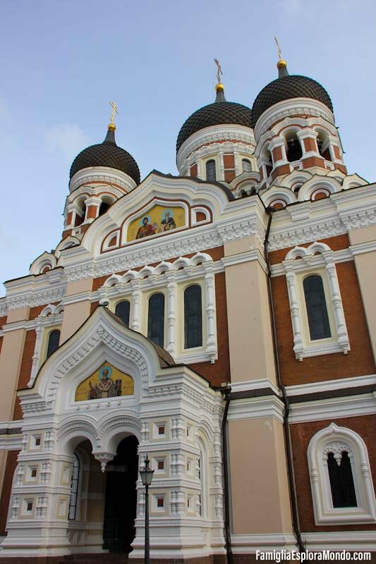 Cattedrale Ortodossa di San NIcola a Tallin