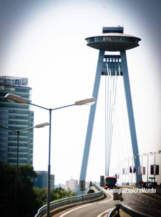 Novy Most, il ponte nuovo e UFO