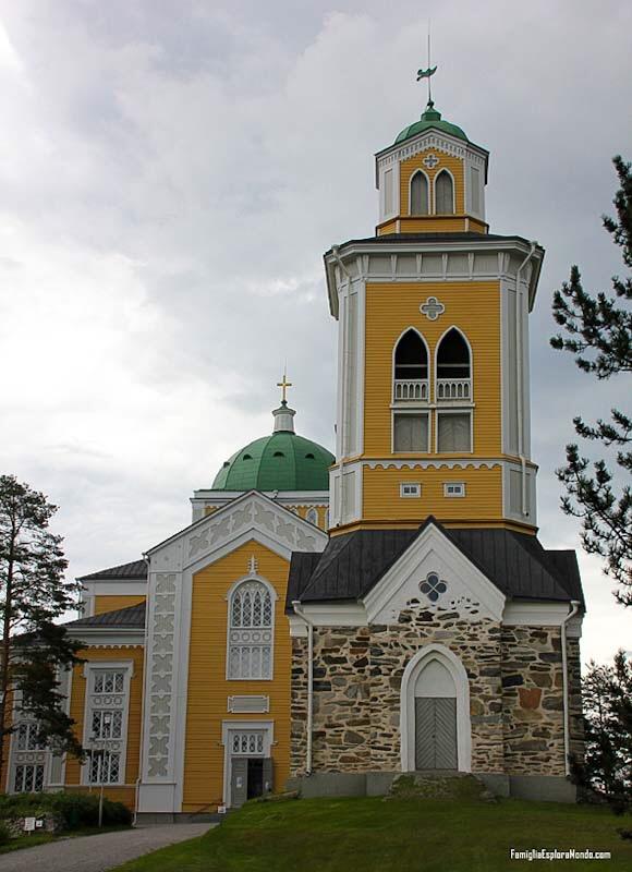 Chiesa Luterana di Kerimaki, la più grande chiesa in legno del mondo