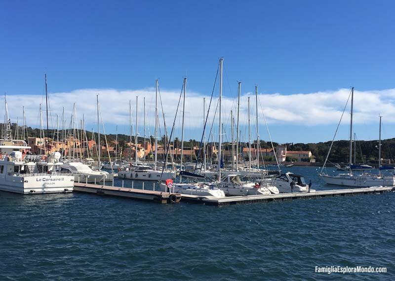 Il porto di Porquerolles