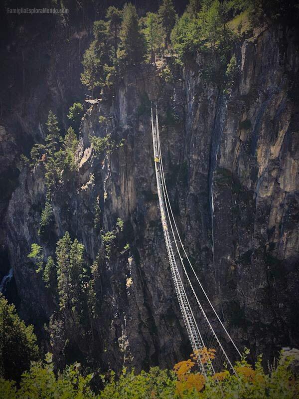 Terzo tratto del ponte: il più alto