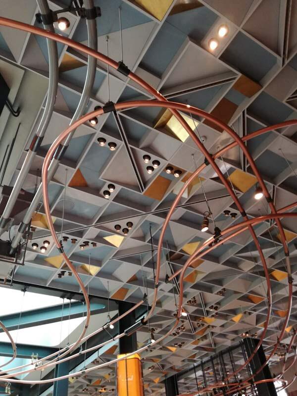 Soffitto di Starbucks, Milano