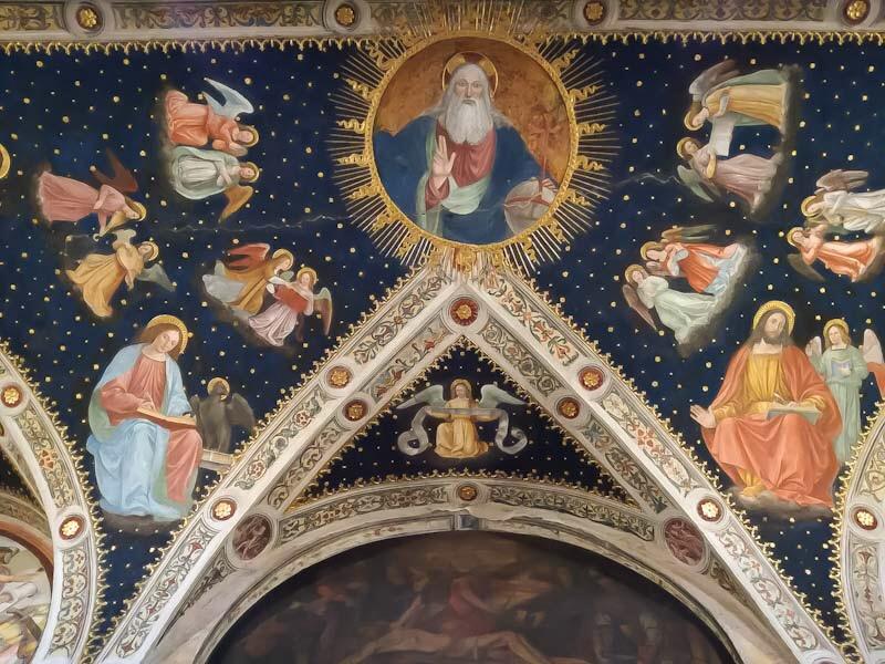 Affresco chiesa di San Maurizio, Milano