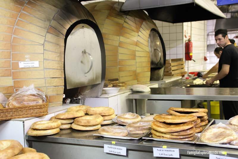 i forni per il pane negli Hangar di Riga