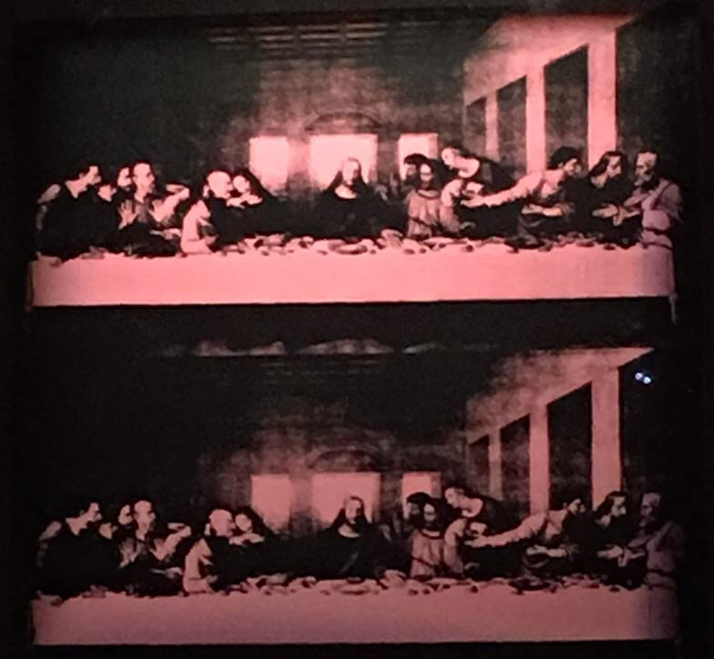 The Last Supper di Warhol
