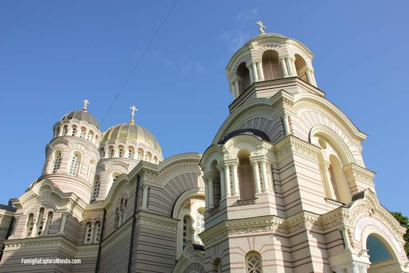 Chiesa ortodossa a Riga