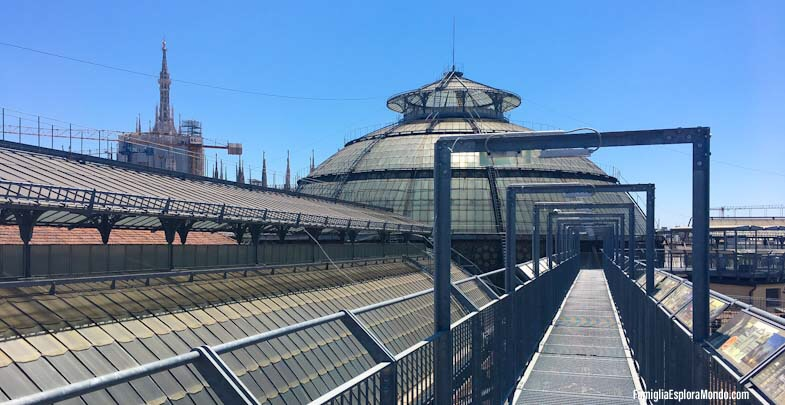 HighLIne Galleria con vista sul Duomo di Milano