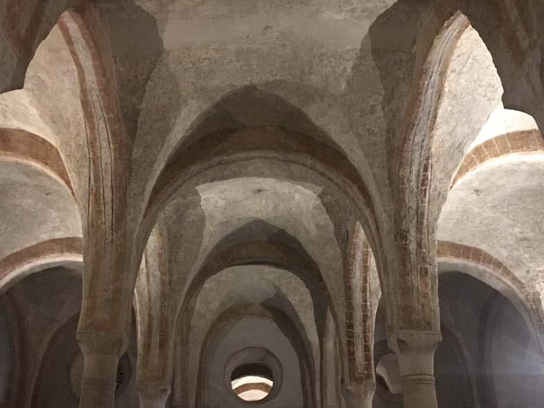 Volte della Cripta di San Sepolcro