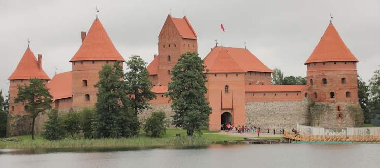 Isola di Trakai con castello