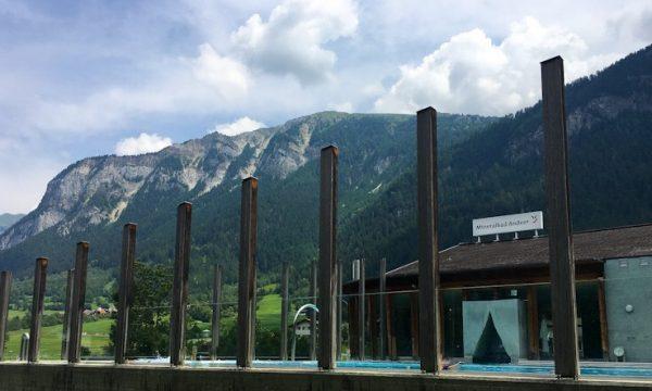 MINERALBAD ANDEER: le terme fra i monti del Cantone dei Grigioni, in Svizzera.