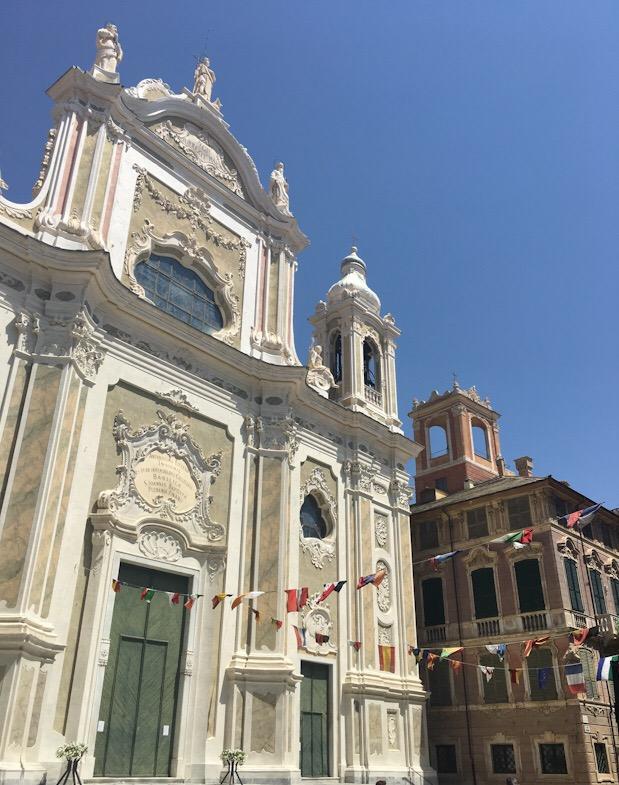 Basilica barocca di San Giovanni Battista a Finale LIgure