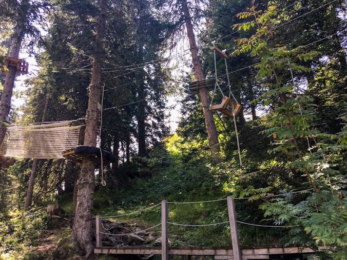 Parco avventura in svizzera per bambini
