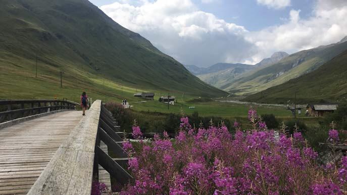 Sentiero didattico delle marmotte in svizzera