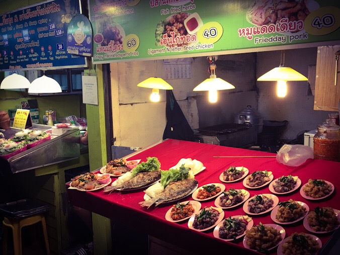 Street food a Chiang rai