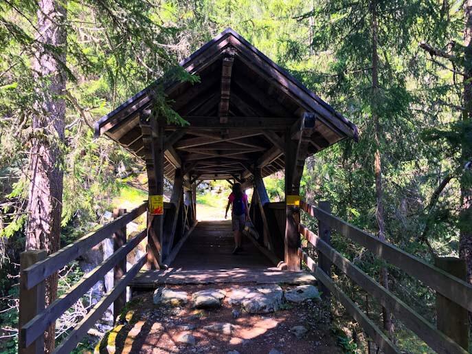 Ponte di legno Rofflaschlucht