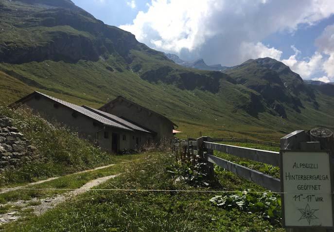 Alpe Bergalga punto di arrivo del sentiero delle marmotte