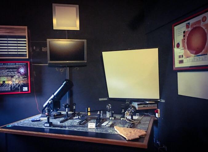 Complesso Eliografico e gnomonico dell'osservatorio astronomico  di tradate