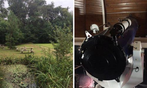 Il Parco Pineta e il Centro Didattico Scientifico – Osservatorio Astronomico di Tradate