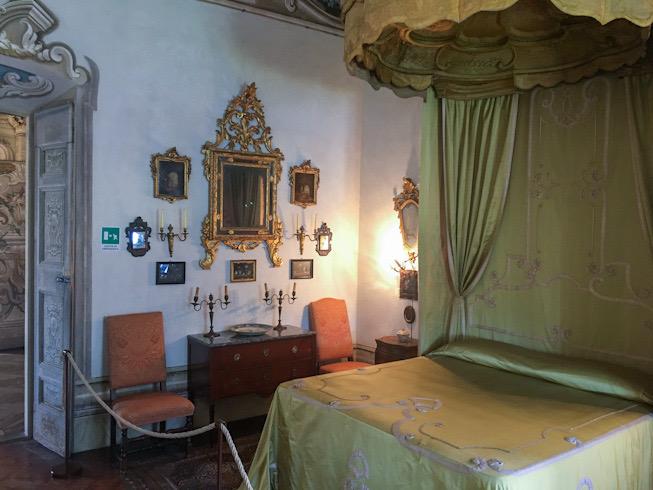 Stanze da letto a Villa Della Porta Bozzolo