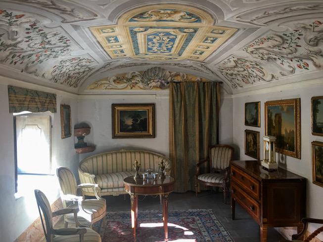 Alcova a Villa della Porta Bozzolo