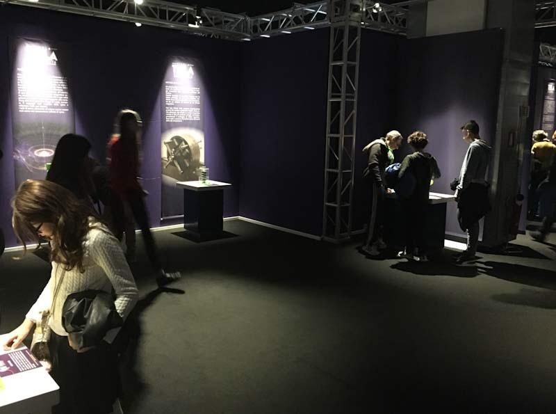 Sala degli esperimenti alla NIkola Tesla Exhibition