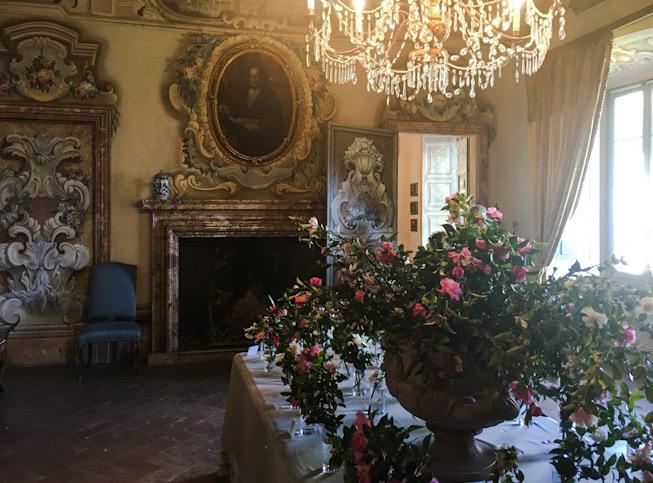 Salone del ballo a Villa della Porta Bozzolo