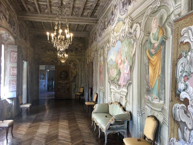 La Galleria a Villa Dalla Porta Bozzolo