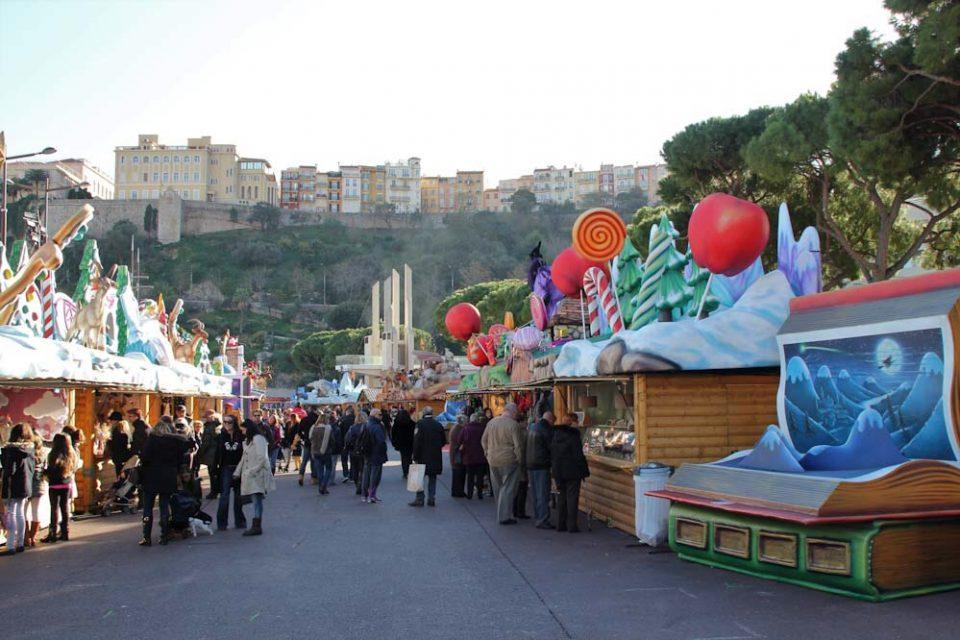 Mercatino di natale di Montecarlo Principato di Monaco
