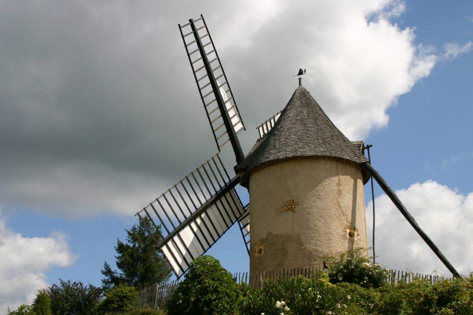 mulino parco tematico le bournat villaggio ricostruito in francia