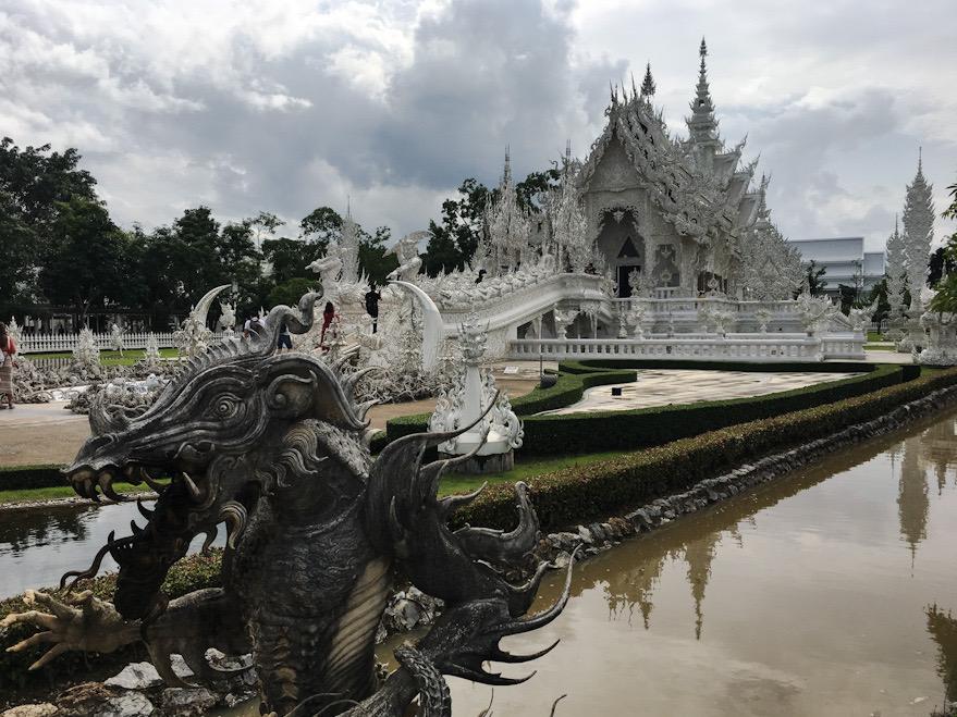 Tempio Bianco Thailandia