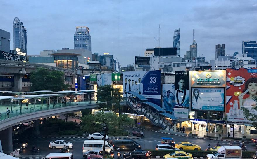Siam quartiere moderno e dello shopping a Bangkok, tappa pomeridiana del nostro itinerario in Thailandia