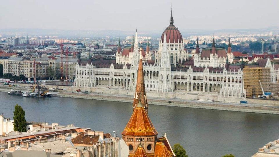 Budapest dai bastioni di Buda