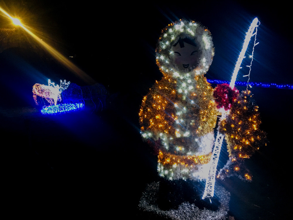 Eventi e luminarie a Varese nei giardini estensi
