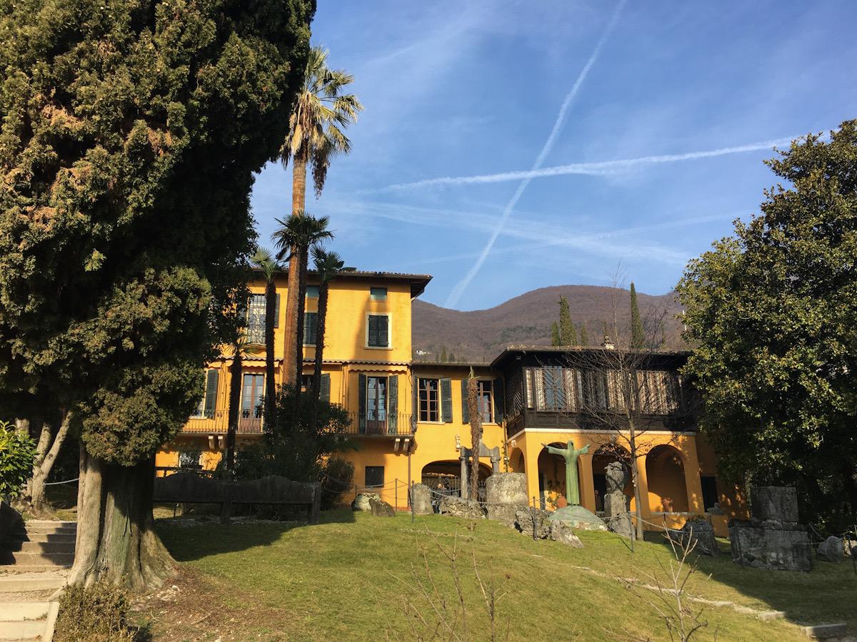 Giardino del Vittoriale degli Italiani a Gardone Riviera