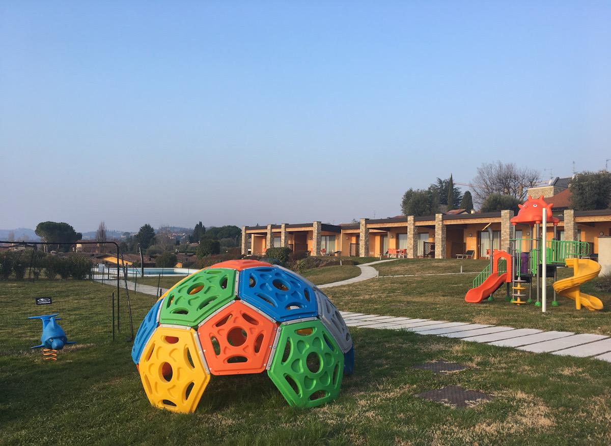 Area gioco residence relais rosa dei venti Moniga del garda