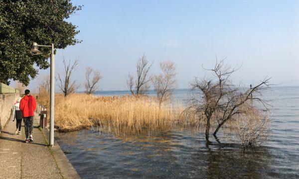 PASSEGGIATA DELLE MUSE a Sirmione, sul Lago di Garda
