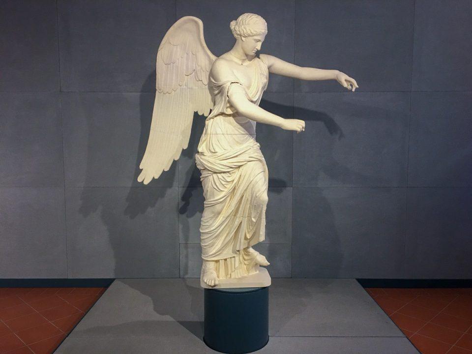 vittoria alata al museo di santa giulia a brescia