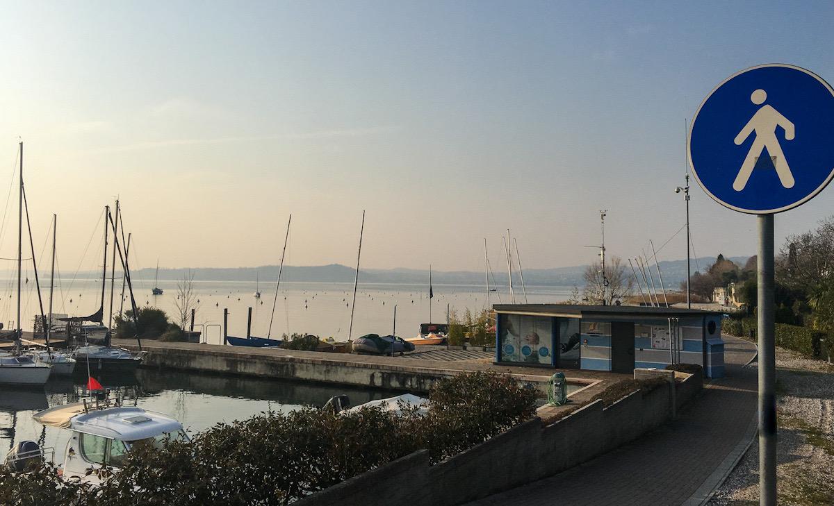 Passeggiata Moniga del garda - Padenghe sul lago di garda