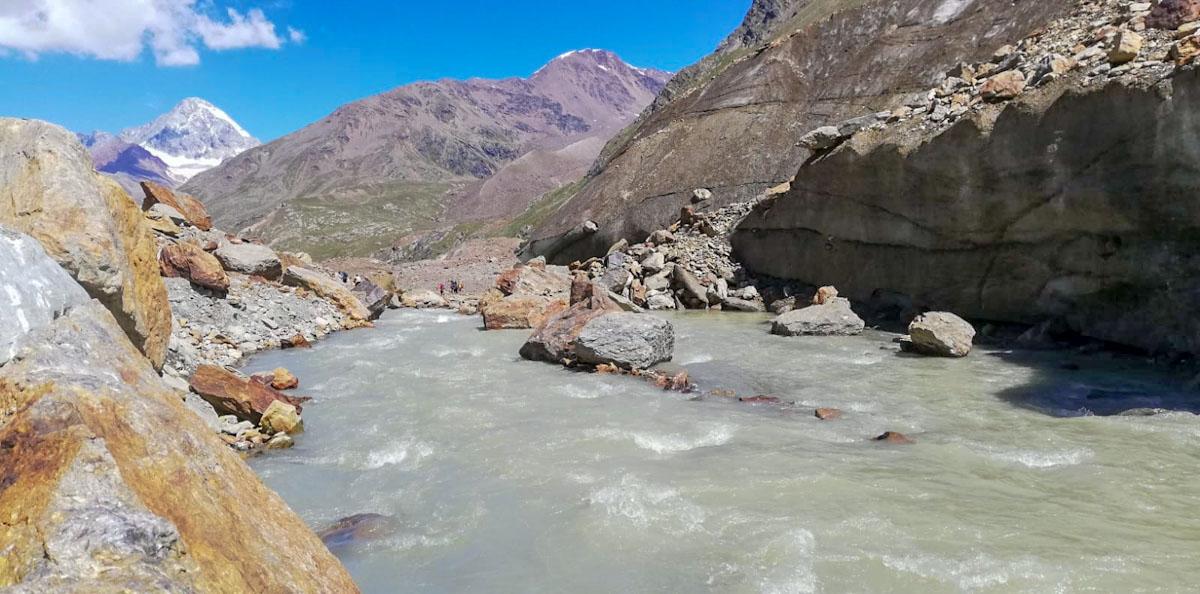 Torrente ghiacciaio Forni