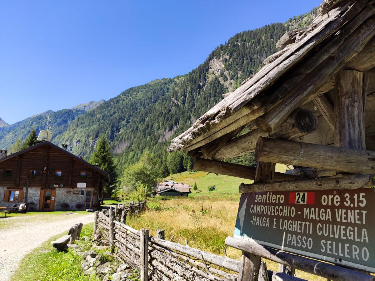 Indicazioni deviazione Giro delle Valli di Sant'Antonio