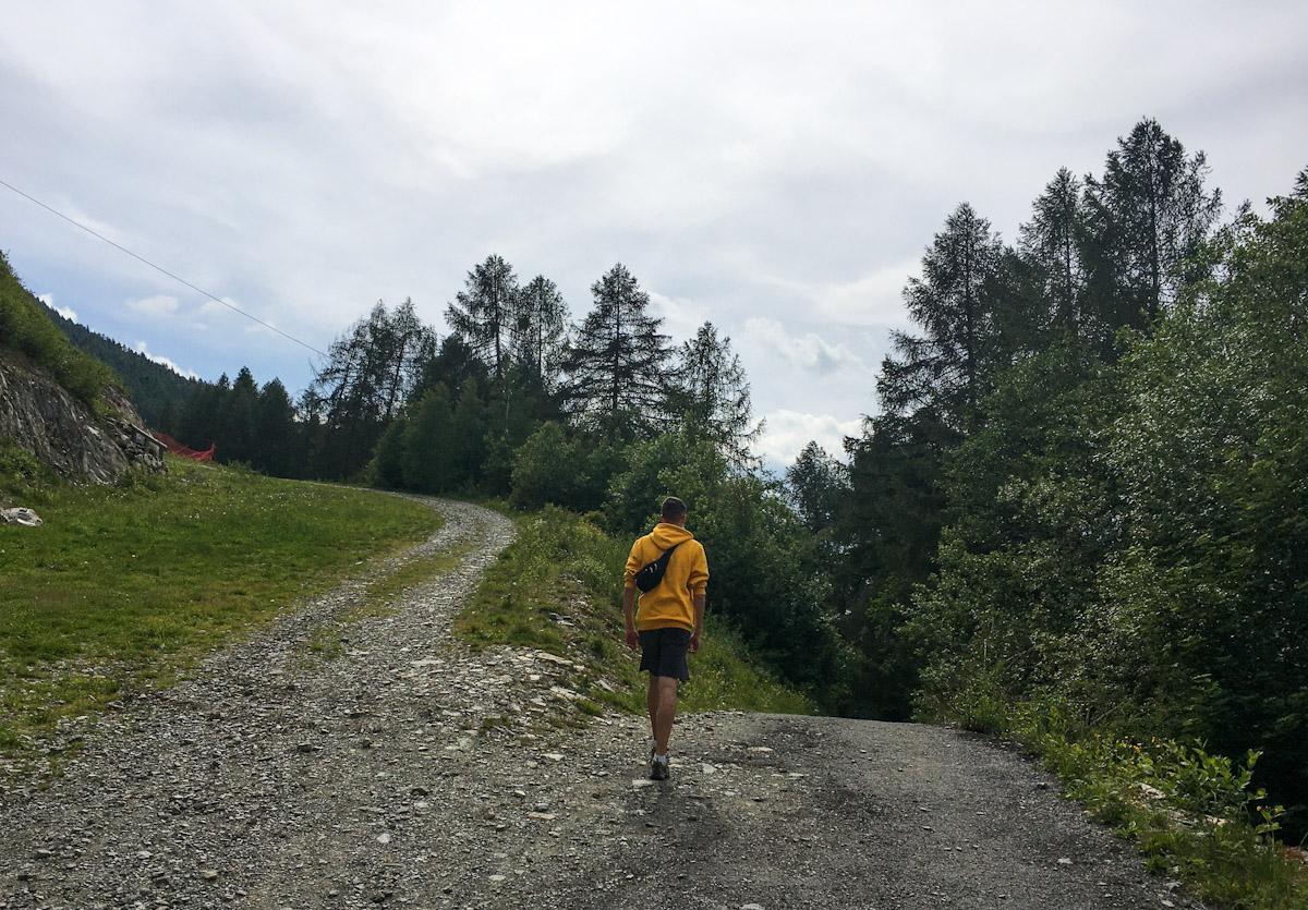 Bivio percorso salute Aprica