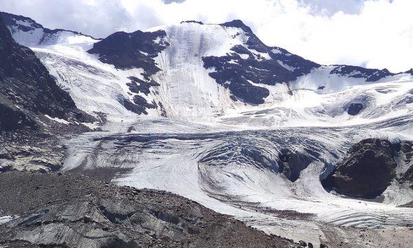 GHIACCIAIO dei FORNI, sentiero glaciologico alto