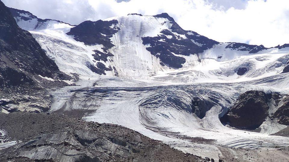 Ghiacciaio dei Forni sentiero glaciologico alto