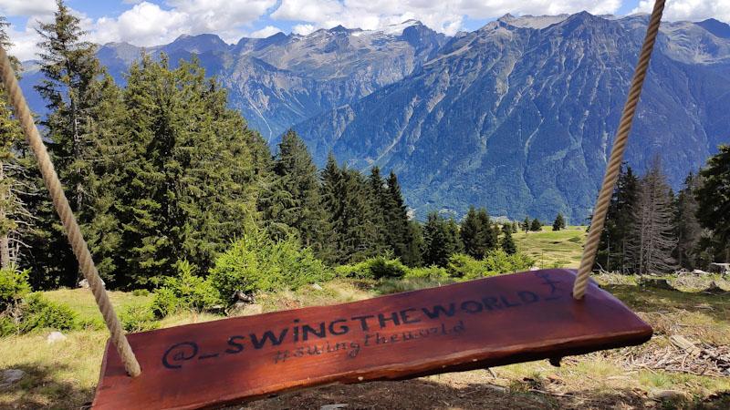 Altalene di Nara progetto Swing the world