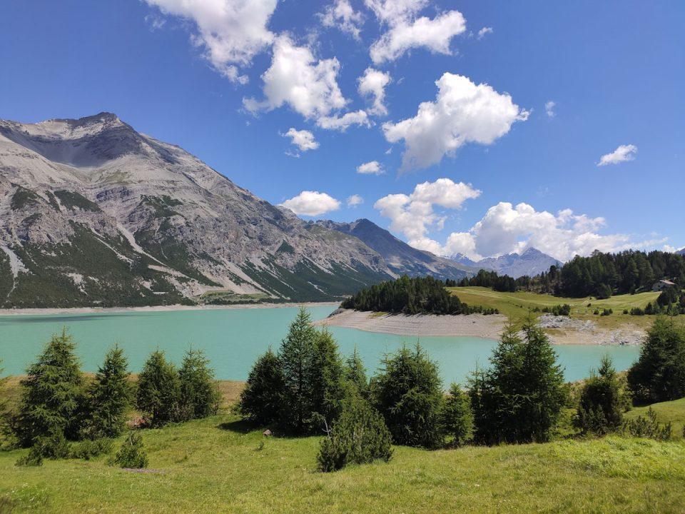 Lago di San Giacomo di Fraele ai Laghi di Cancano